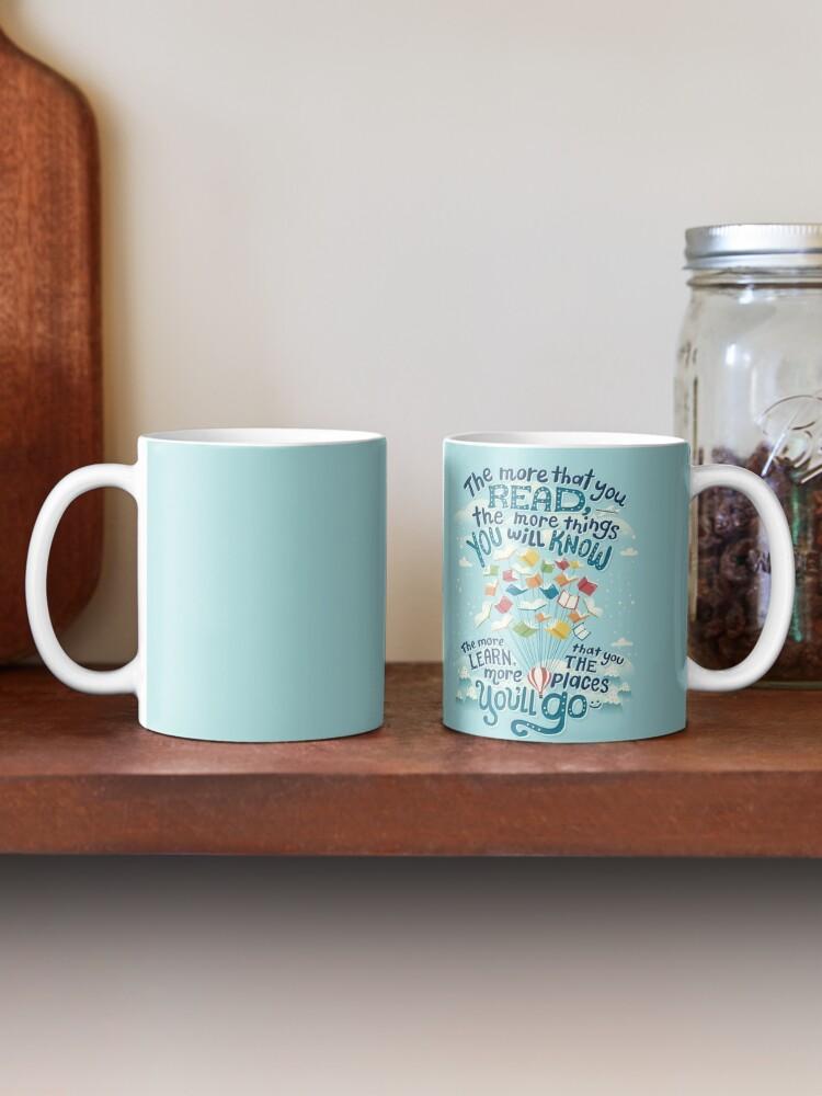Alternate view of Go places Mug