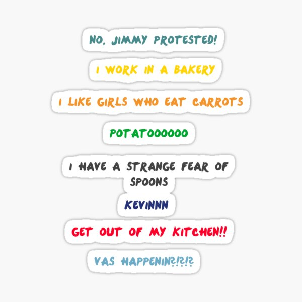 Pack d'autocollants One Direction Quotes Sticker