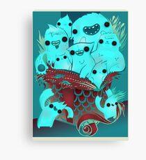 Monster Gift Canvas Print