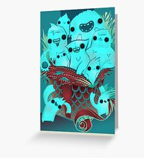 Monster Gift Greeting Card