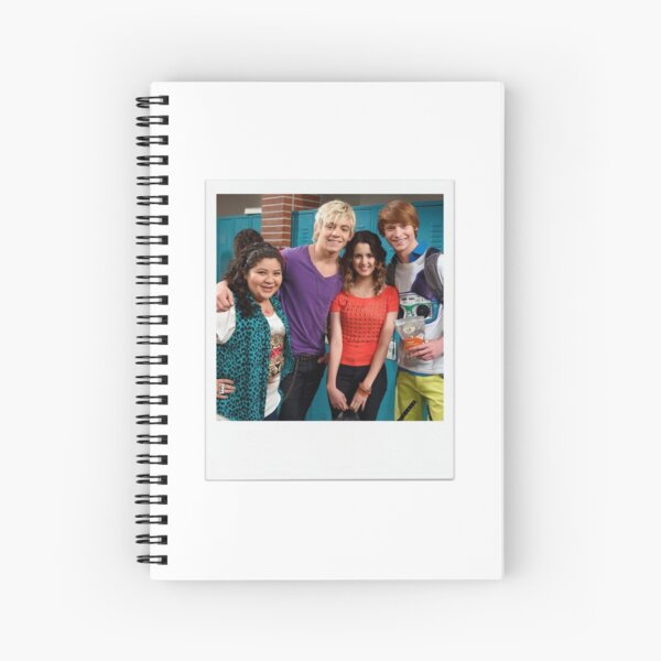 Austin and Ally cast Polaroid  Spiral Notebook