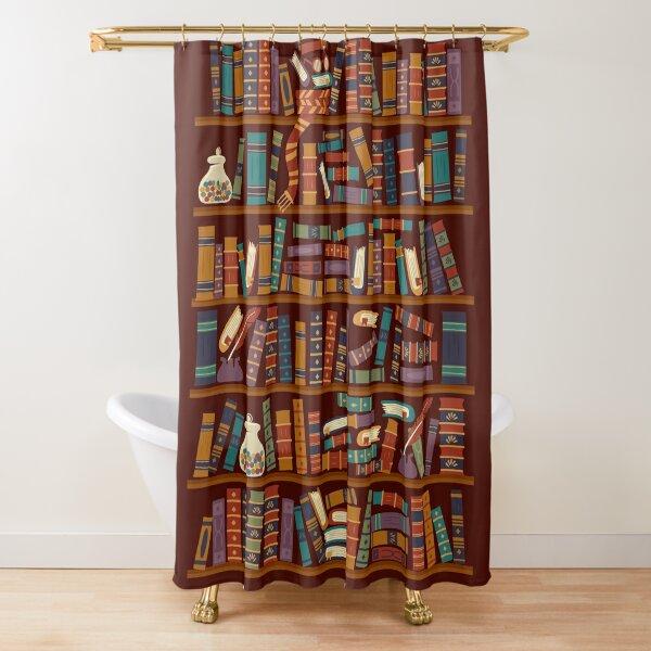 Estante para libros Cortina de ducha