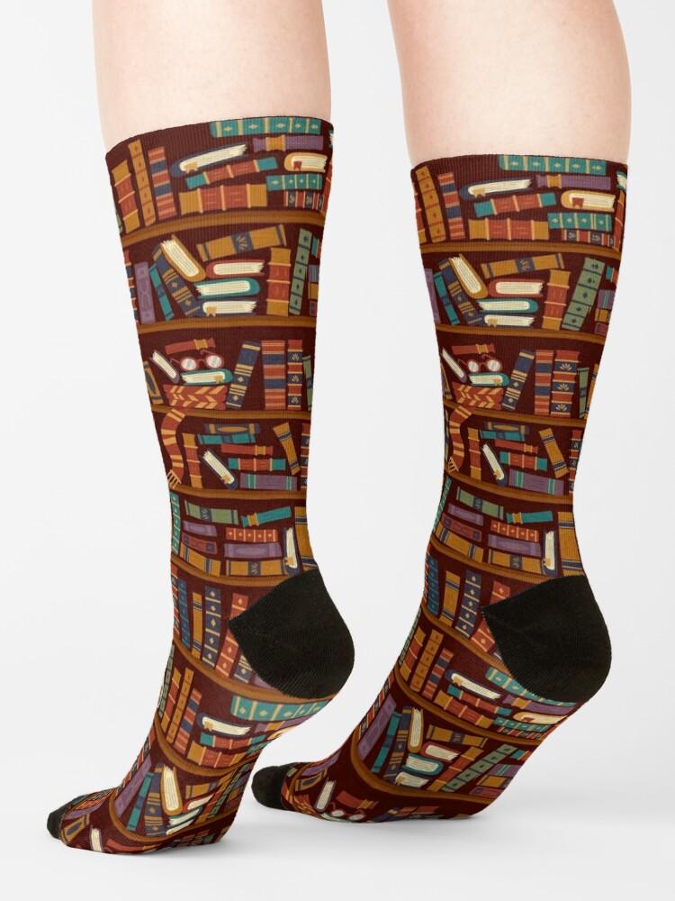 Alternate view of Bookshelf Socks