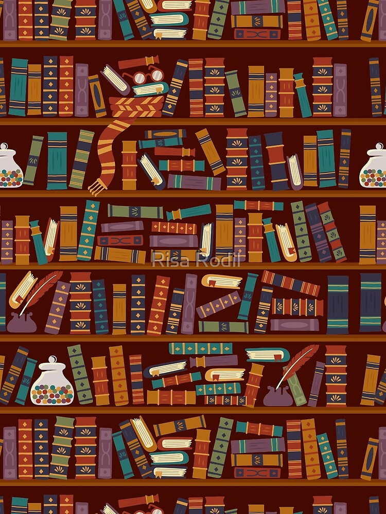 Bookshelf by risarodil
