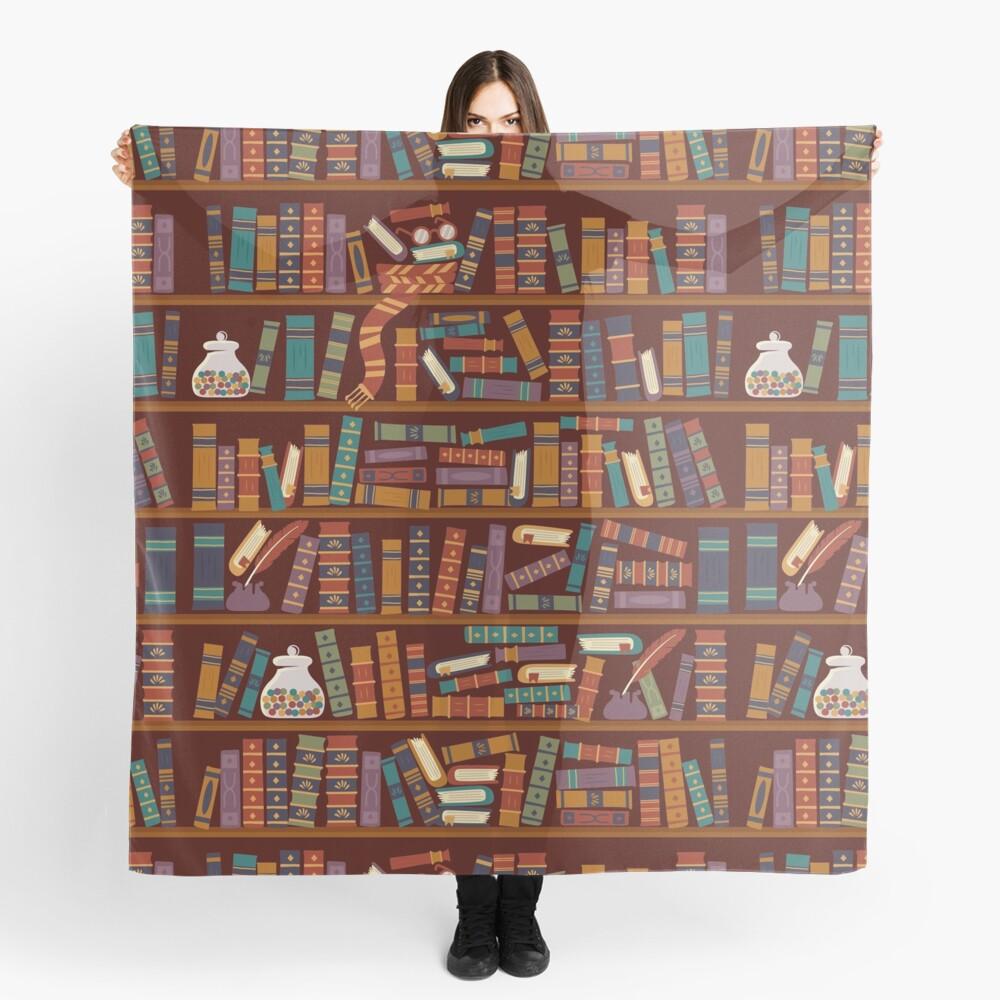 Bookshelf Scarf