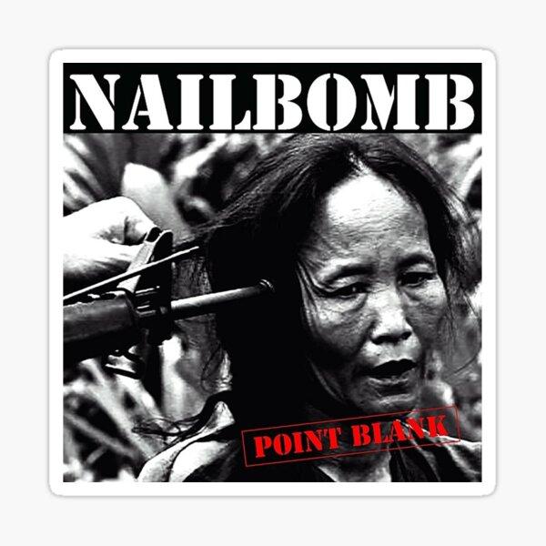 Nailbomb - Point Blank Sticker