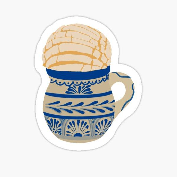 Concha y Cafe Sticker