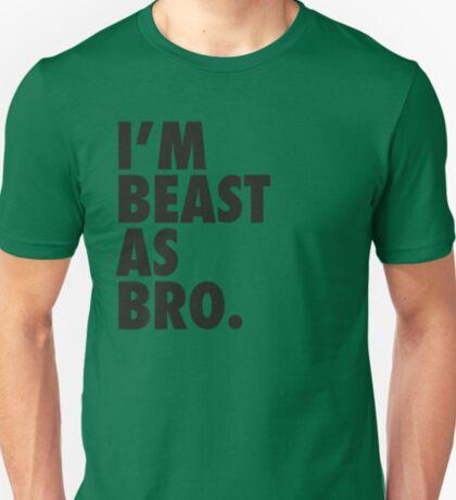 Beast As Bro (Black) T-Shirt