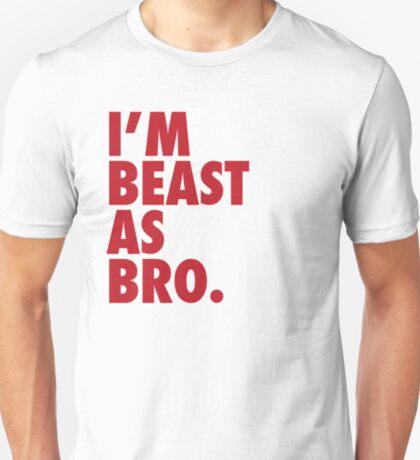 Beast As Bro (Red) T-Shirt