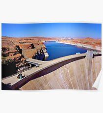 Glen Canyon dam Poster