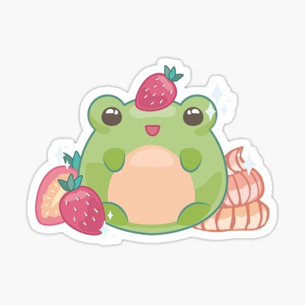 Strawberry Frog Pegatina