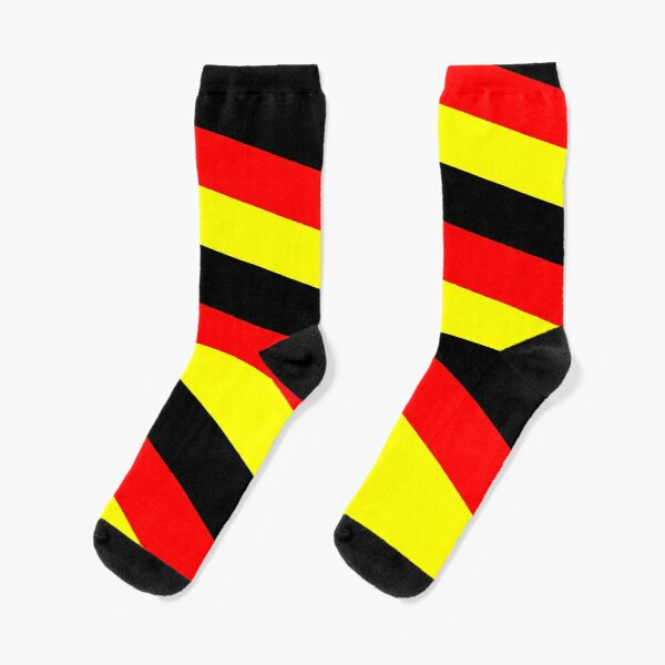 German flag pattern Socks
