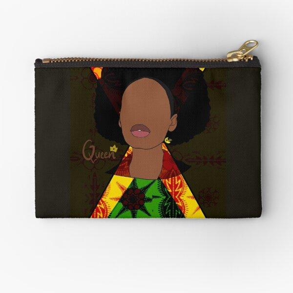 Queen - Jamaica Zipper Pouch