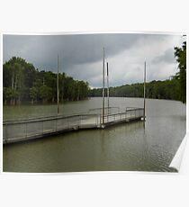 Cook's Lake- White River, Arkansas Poster