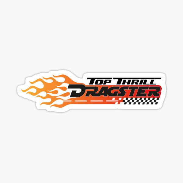 Top Thrill Dragster Sticker