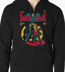 Sherlock Comic Zipped Hoodie