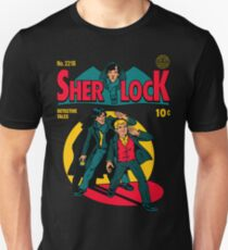 Sherlock Comic Slim Fit T-Shirt