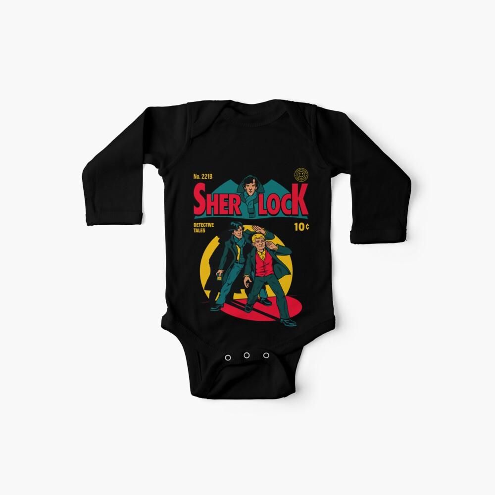 Sherlock Comic Body para bebé
