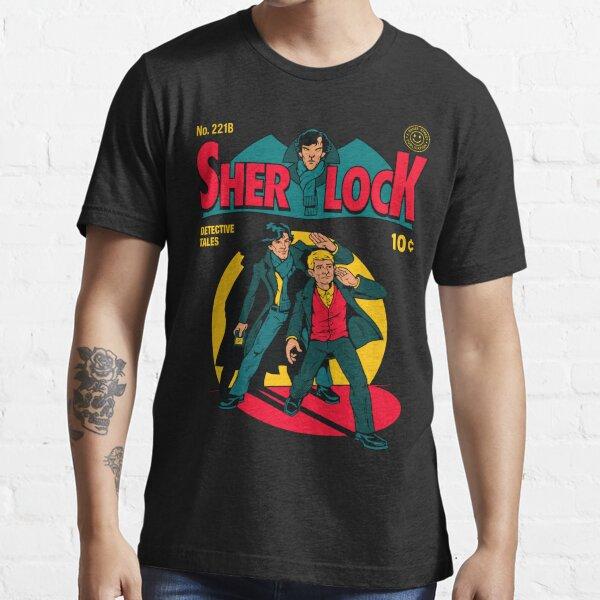 Sherlock Comic Essential T-Shirt