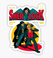 Sherlock Comic Sticker