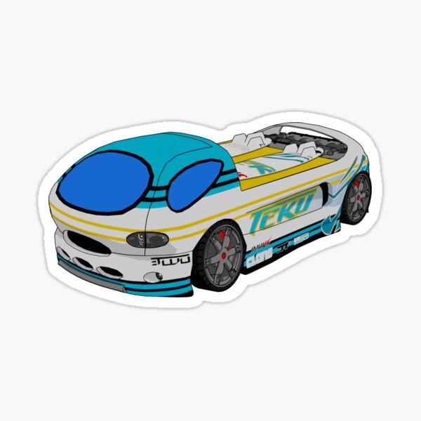 Hot Wheels AcceleRacers Teku Deora II Sticker