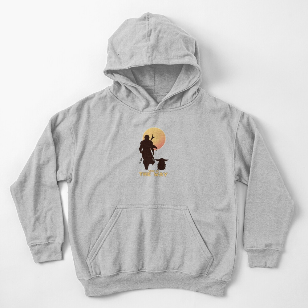 This is The Way  Kids Pullover Hoodie