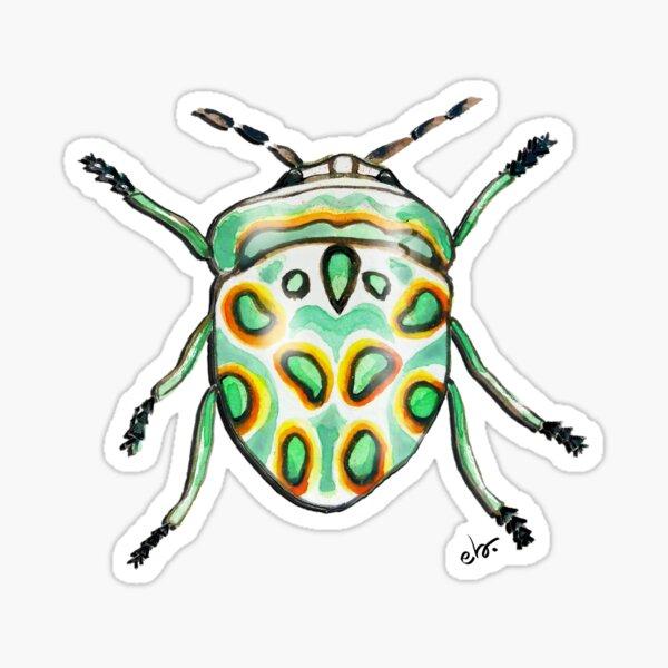 Picasso bug_watercolor Sticker