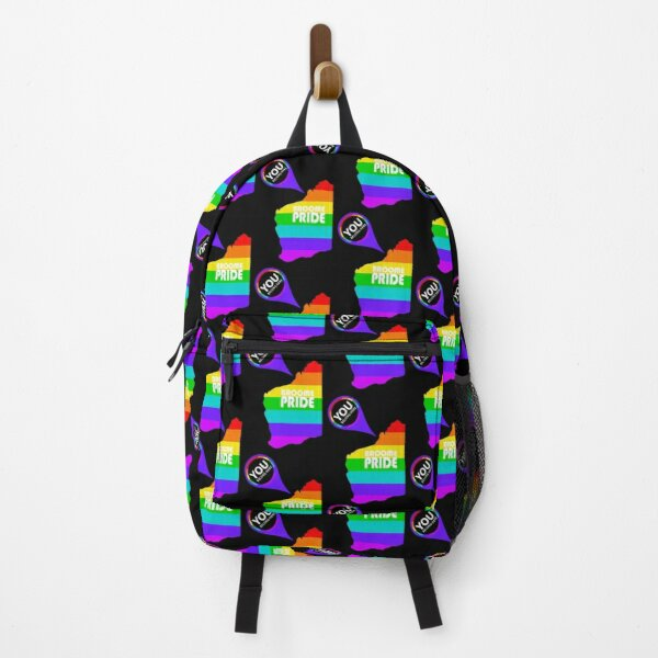 Broome Pride You Belong – White Logo Backpack