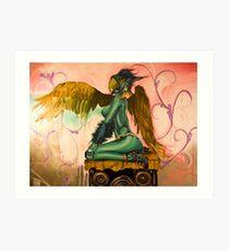 FlyGirl 3 Art Print
