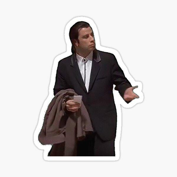 Confused Travolta Sticker