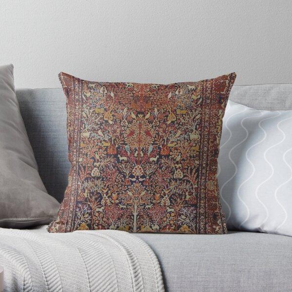 Persische Weinlese-antike Teppich-Natur-Kunst Dekokissen