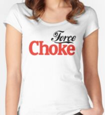 Force Choke Women's Fitted Scoop T-Shirt