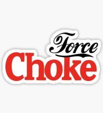 Force Choke Sticker