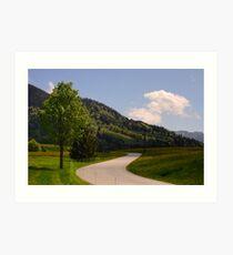 Bavarian Spring Art Print