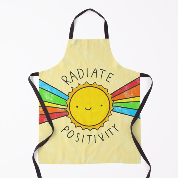 Radiate Positivity Apron