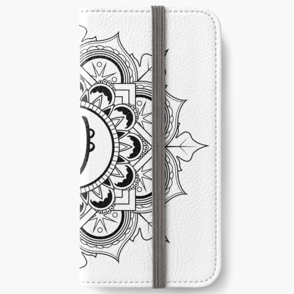 Reiki Sei Hei Ki (Emotional) Symbol Mandala iPhone Wallet