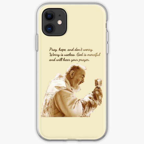 St Padre Pio of Pietrelcina iPhone Soft Case