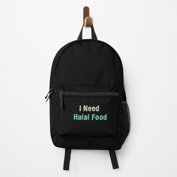 I Need Halal Food Backpack