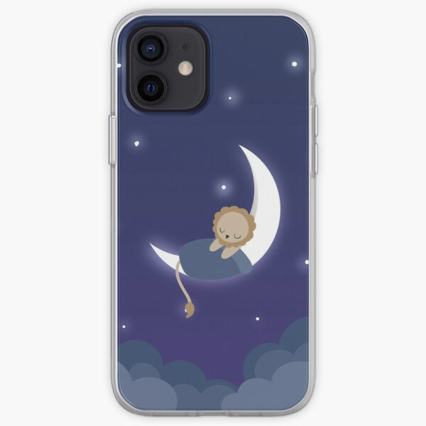 The Lion Sleeps On The Moon iPhone Soft Case
