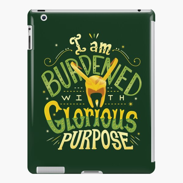 Glorious Purpose iPad Snap Case