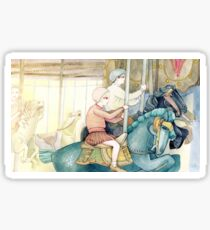 Carousel Ride Sticker