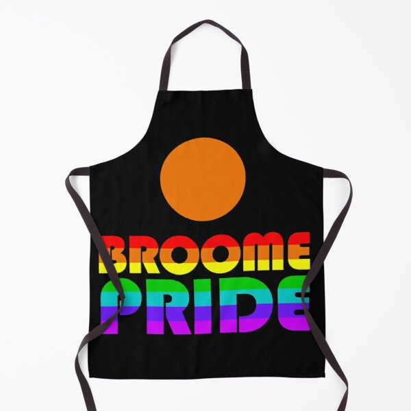 Colourful Broome Pride Apron