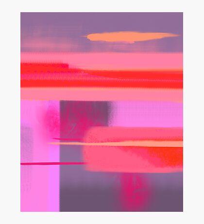 Sad at sunset Photographic Print