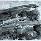 Untitled 9- Paper Round Series by Richard Sunderland
