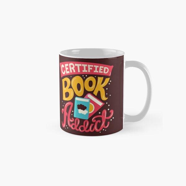 Certified Book Addict Classic Mug