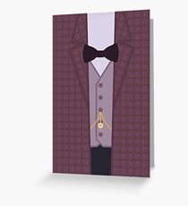 The Eleventh Doctor (V2) Greeting Card