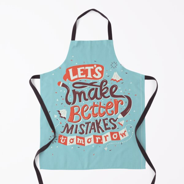 Better Mistakes Apron