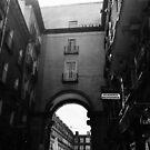 Arched Entrance  by Allison  Flores