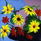 A Motley Bunch of Flowers by Anne Gitto