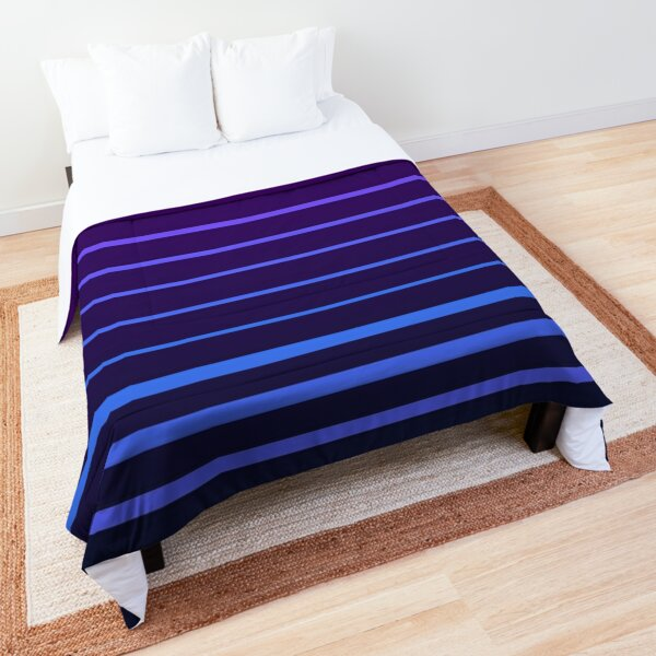 Synthwave Lines Pantone Colors Comforter